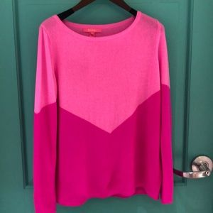 Lilly Pulitzer Cashmere Sweater, size XL